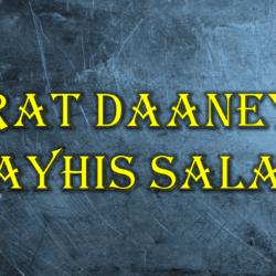 Daneyal